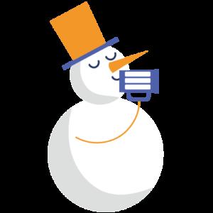 Bonhomme de neige Tribulle